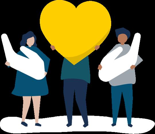People Holding Heart Vectors by Vecteezy