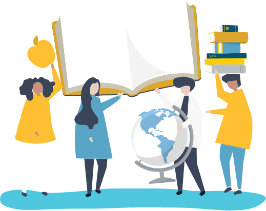 Education Globe Book Vectors by Vecteezy
